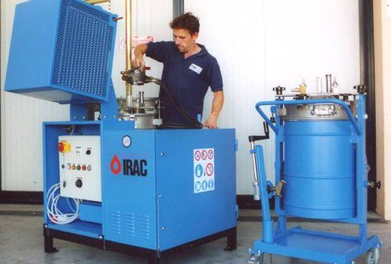 Rigeneratore solvente Solvent Reclaimer MIXER Atex Zona Zone 2 per la totale essicazione dei residui - Total dry residues